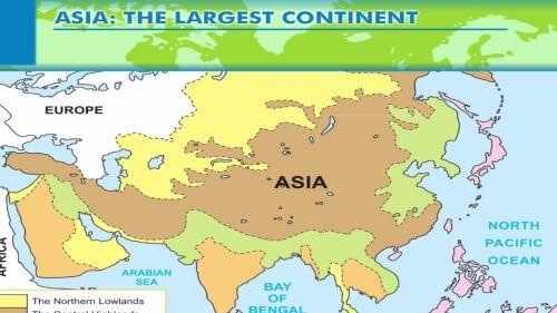 Asia Benua Terbesar di dunua