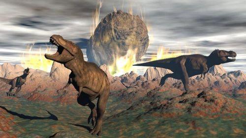Dinosaurus dan Hujan Meteor