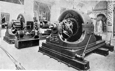 Generator AC polifase Tesla