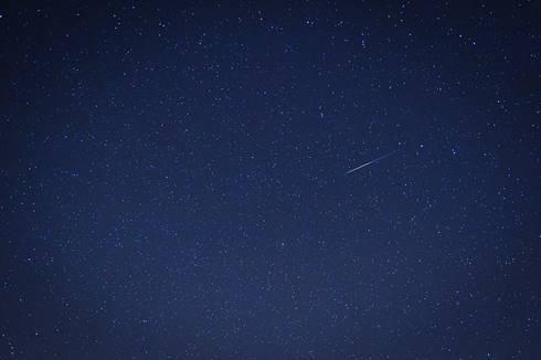 Hujan meteor Quadrantid tahun 2012 terlihat dari Arizona, AS