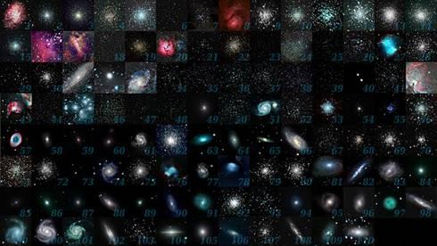 Kumpulan Messier object yang dibuat oleh astronom amatir