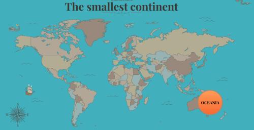 Oceania Benua Terkecil di Dunia