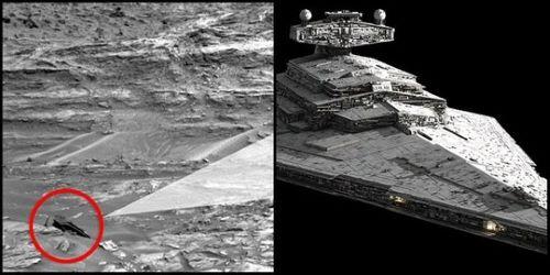 Pesawat Luar Angkasa di Mars
