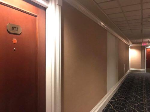 Pintu Kamar 873 Yang Ditutup