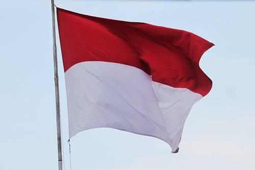 bendera Indonesia lambang merdeka di tahun 1945