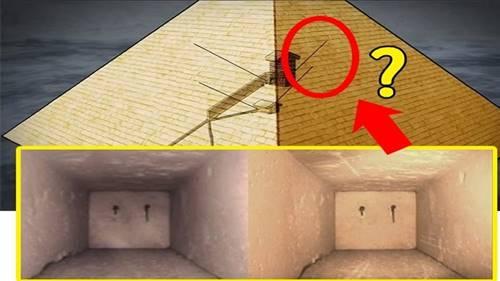 Poros yang masih misteri di dalam Piramida Giza