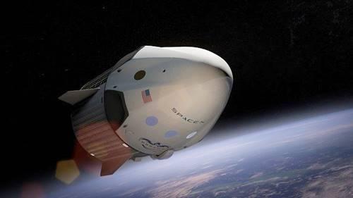 pesawat ruang angkasa Space X