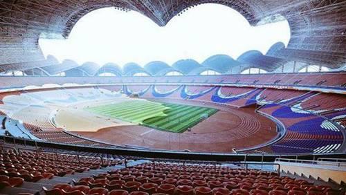 Stadion Buruh Rungrado di Korea Utara