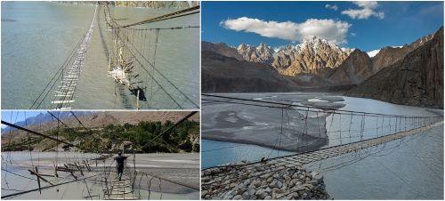 Hussaini Hanging Bridge Pakistan