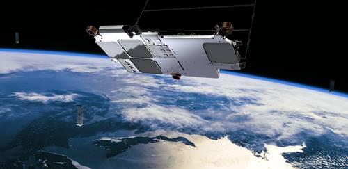 salah satu satelit Starlink yang sudah diluncurkan