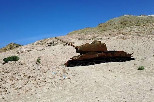 Tank milik tentara Uni Soviet dari Perang Dunia II