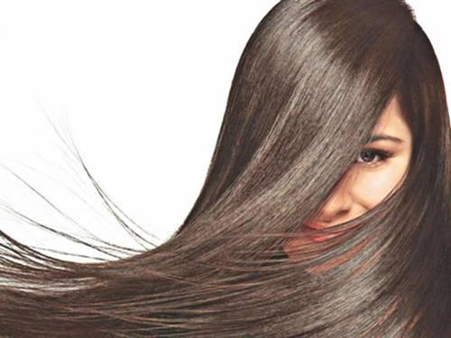 rambut seorang wanita