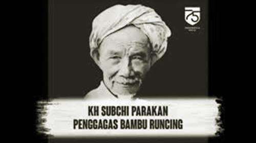 wajah kiyai subchi pengagas bambu runcing pertama kali