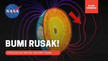 Medan Magnet Bumi Penyok! Pertanda Bahaya ?