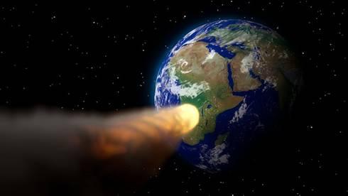 Asteroid melaju menuju bumi