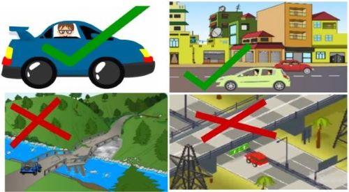 Parkir Kendaraan di Tempat Yang Aman - Gempa Datang