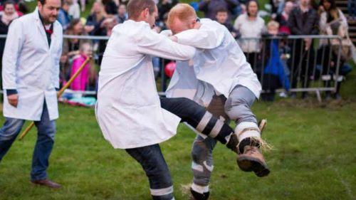 Cotswold Olimpick Shin-Kicking Inggris