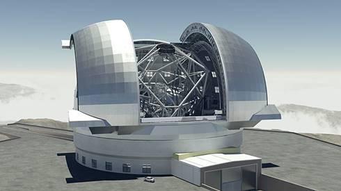 Ilustrasi European Extremely Large Telescope. (ESO)