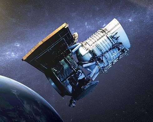 Ilustrasi Wide-Field Infrared Survey Telescope (NASA JPL-Caltech)