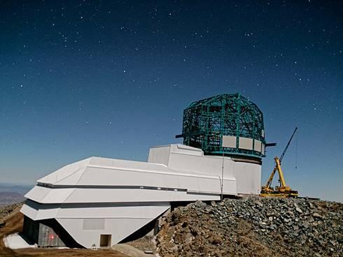 Large Synoptic Survey Telescope akhir tahun 2019. (Wikipedia)