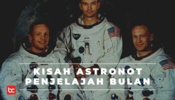 3 Astronot Penjelajah Bulan Kisah Heroik Luar Angkasa