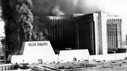 MGM Grand Hotel, Las Vegas - Kebakaran Terbesar