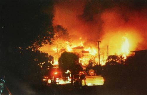 Oakland Hills, California - Kebakaran Terbesar