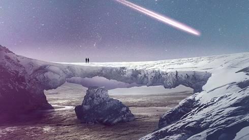Permukaan bumi tertutup es