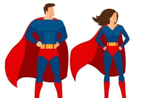 Superhero - Tipe Imposter Syndrome