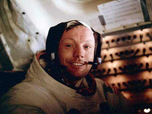 Foto portrait Astronot Neil Amstrong