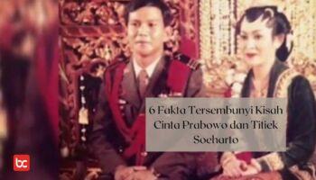 6 Fakta Tersembunyi Kisah Cinta Prabowo dan Titiek Soeharto