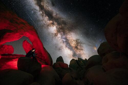 Milky way yang indah