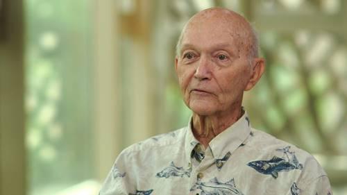 Collins saat ini di usianya yang ke- 89 tahun