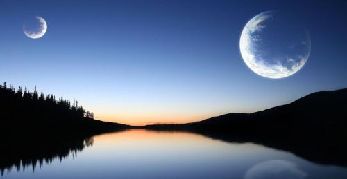 Seandainya Bumi Punya 2 Bulan, Apa yang Terjadi?