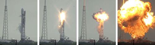 Falcon 9 - Kegagalan Peluncuran Roket