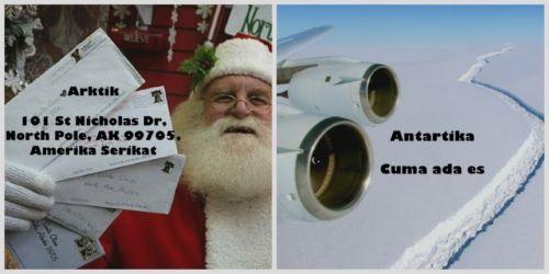 Alamat Santa Claus di Kutub