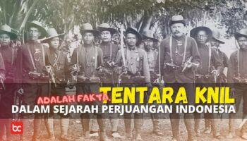 Tentara KNIL Dalam Sejarah Perjuangan Indonesia, Adalah Fakta