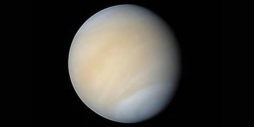 planet venus dalam foto