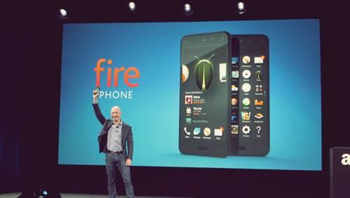 Amazone dengan produk teknologi gagalnya Fire phone