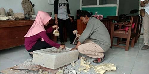 fosil paus purba penemuan unik dari Blora Jawa tengah Indonesia