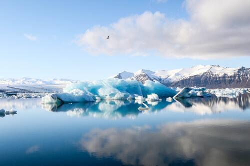 Gletser Hardangerjøkulen