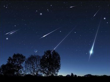 bintang jatuh meteor