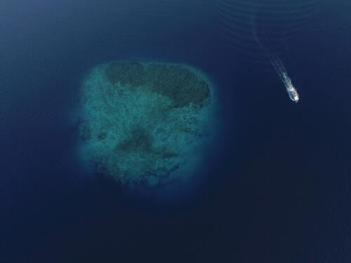 Ilustrasi Pulau Tenggelam