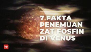 7 Fakta Planet Venus Memiliki Tanda Kehidupan?
