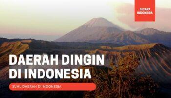 5 Daerah Paling Dingin di Indonesia