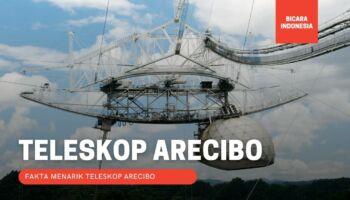 5 Fakta Menarik Teleskop Arecibo Sebelum Runtuh