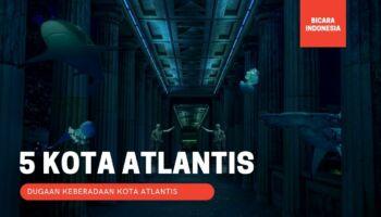 5 Kota yang Diduga Sebagai Kota Atlantis yang Hilang