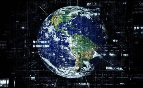 ilustrasi Internet di seluruh Dunia