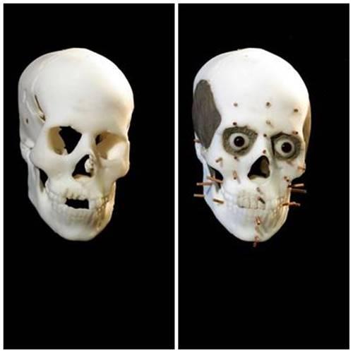 rekontruksi wajah dasar Avgi