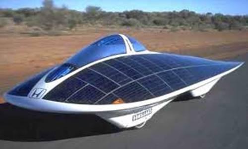 contoh mobil canggih di dunia mobil tenaga surya
